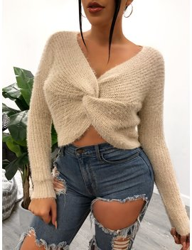 Olivia Sweater (Cream) by Laura's Boutique