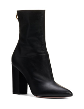Ringstud Pointed Toe Bootie by Valentino Garavani