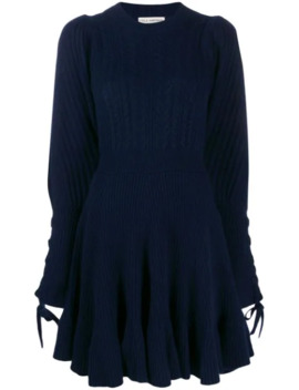 Puff Sleeve Knitted Dress by Ulla Johnson