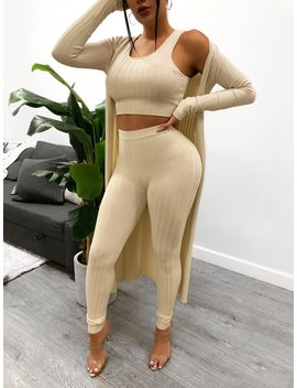Haisley 3 Piece (Nude) by Laura's Boutique