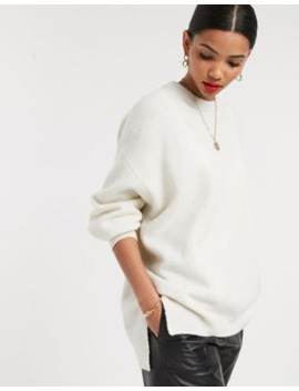&Amp; Other Stories Oversized Sweater In Cream by & Other Stories
