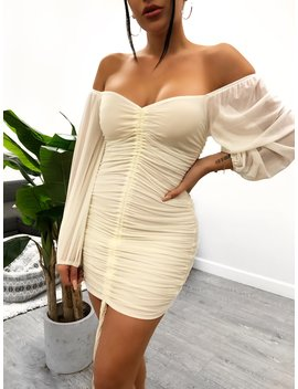 Jenika Dress (Ivory) by Laura's Boutique