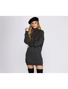Casual Knit Open Back Tunic by Windsor