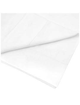 John Lewis & Partners 400 Thread Count Soft & Silky Egyptian Cotton Flat Sheet, White by John Lewis & Partners