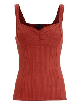 Alloy Ribbed Tank Top by The Range