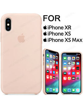 New Boxed   I Phone Xr, I Phone Xs, I Phone Xs Max Lightweight Silicone Case Cover by Ebay Seller