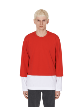 Double Long Sleeves T Shirt by Comme Des Garcons Shirt