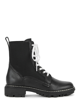 Shiloh 40 Black Leather Boots by Rag & Bone