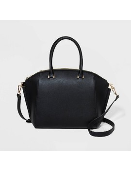 Structured Wing Satchel Handbag   A New Day™ by A New Day
