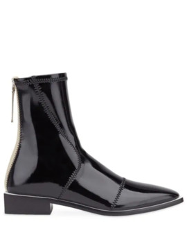 Patent Leather Ankle Boots by Fendi