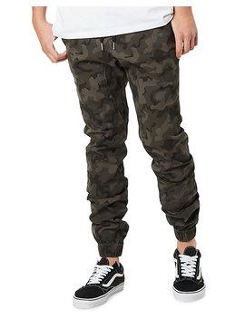 Men's Sureshot Lite Camo Jogger Pants by Zanerobe