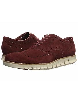 Zerogrand Wing Ox Suede by Cole Haan