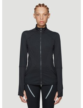 Essential Mid Layer Top In Black by Adidas By Stella Mc Cartney