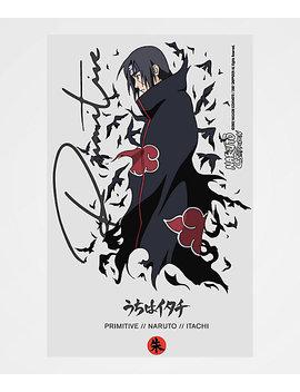 Primitive X Naruto Crows White Sticker by Primitive