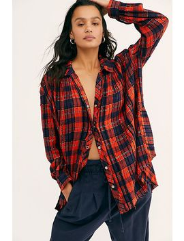 We The Free Lela Plaid Tunic by We The Free