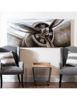 Airplane Propeller Canvas Art Print by Kirkland's
