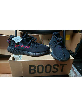 Adidas Yeezy 350 V2 Core Black Red Sply Bred Boost 2017 Authentic New Size 8 by Ebay Seller