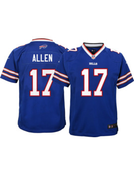 Josh Allen #17 Nike Youth Buffalo Bills Home Game Jersey by Nike