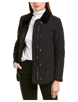 Burberry Diamond Quilted Barn Jacket by Burberry