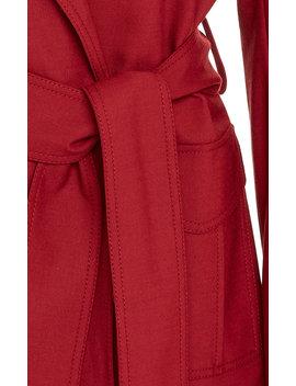 Belted Crepe Blazer by Victoria Victoria Beckham