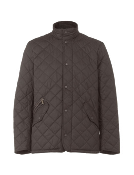 Chelsea Quilted Sports Jacket In Black by Barbour