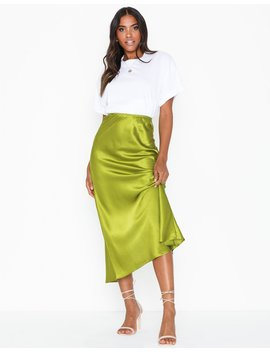 Long Satin Skirt by Nly Trend