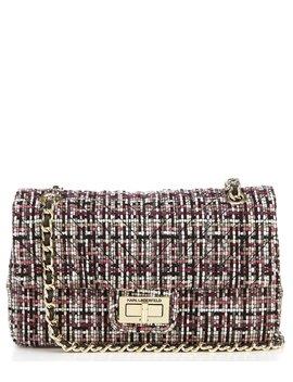 Agyness Tweed Shoulder Bag by Karl Lagerfeld Paris