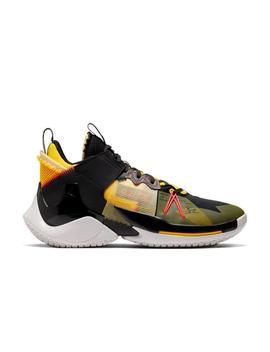 "Jordan ""Why Not?"" Zer0.2 Se ""Black/Flash Crimson"" Men's Basketball Shoe Jordan ""Why Not?"" Zer0.2 Se ""Black/Flash Crimson"" Men's Basketball Shoe by Hibbett"