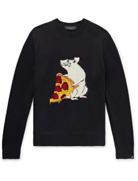 Intarsia Cotton And Cashmere Blend Sweater by Rag & Bone