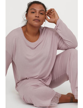 H&M+ Jersey Pajamas by H&M