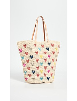 Amelie Hearts Tote Bag by Mar Y Sol