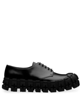 Chunky Derby Shoes by Prada