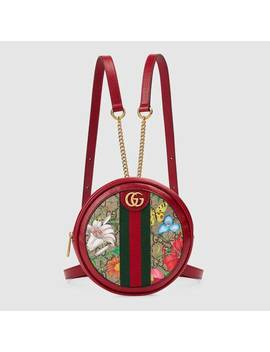 Ophidia Gg Flora Mini Backpack by Gucci