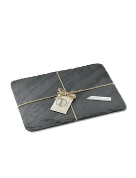 Brooklyn Slate Cheese Board, Grey by Williams   Sonoma
