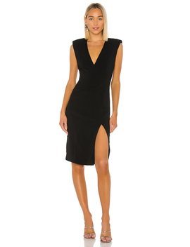 Colby Deep V Neck Dress by Jay Godfrey