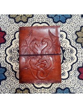 Handmade 50% Off! Personalized Dragon Emboss Leather Journal With Clasp Personal Diary Sketchbook Blank Book Large Gift For Writers by Etsy