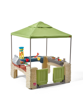 Step2 All Around Playtime Patio With Canopy With 16 Play Accessories by Step2