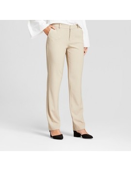 Women's Straight Leg Bi Stretch Twill Pants   A New Day™ by A New Day