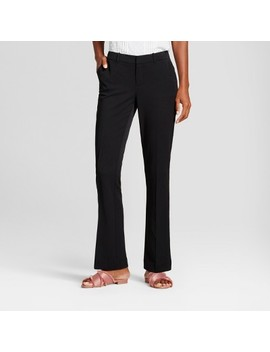 Women's Bootcut Bi Stretch Twill Pants   A New Day™ by A New Day