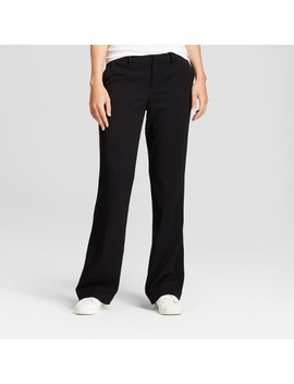 Women's Flare Bi Stretch Twill Pants   A New Day™ by A New Day