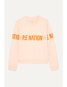 Exposure Printed French Cotton Terry Sweatshirt by P.E Nation