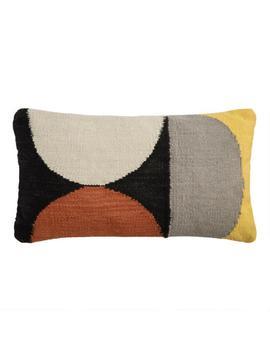 Woven Circles Indoor Outdoor Lumbar Pillow by World Market