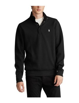 Double Knit Tech Mockneck Pullover by Polo Ralph Lauren