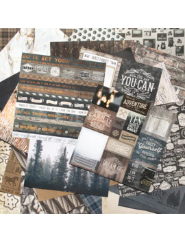 "Cedar Lodge Paper Pad By Craft Smart™, 12"" X 12"" by Craft Smart"