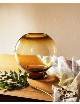Glass Vase Vases   Decoration   Bedroom by Zara Home
