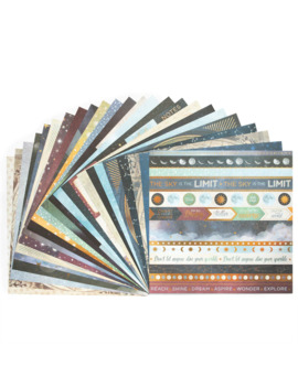 """Star Traveler Paper Pad By Craft Smart®, 12"""" X 12"""" by Craft Smart"""