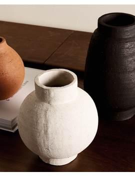 Terracotta Vase Vases   Decoration   Bedroom by Zara Home