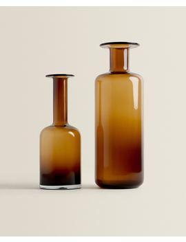 Bottleshaped Vase   Vases   Decoration   Bedroom by Zara Home