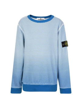 Junior Boys Striped Long Sleeve T Shirt by Stone Island Junior
