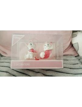 Disney Marie Aristocats Christmas Tree Decorations Baubles Primark by Ebay Seller